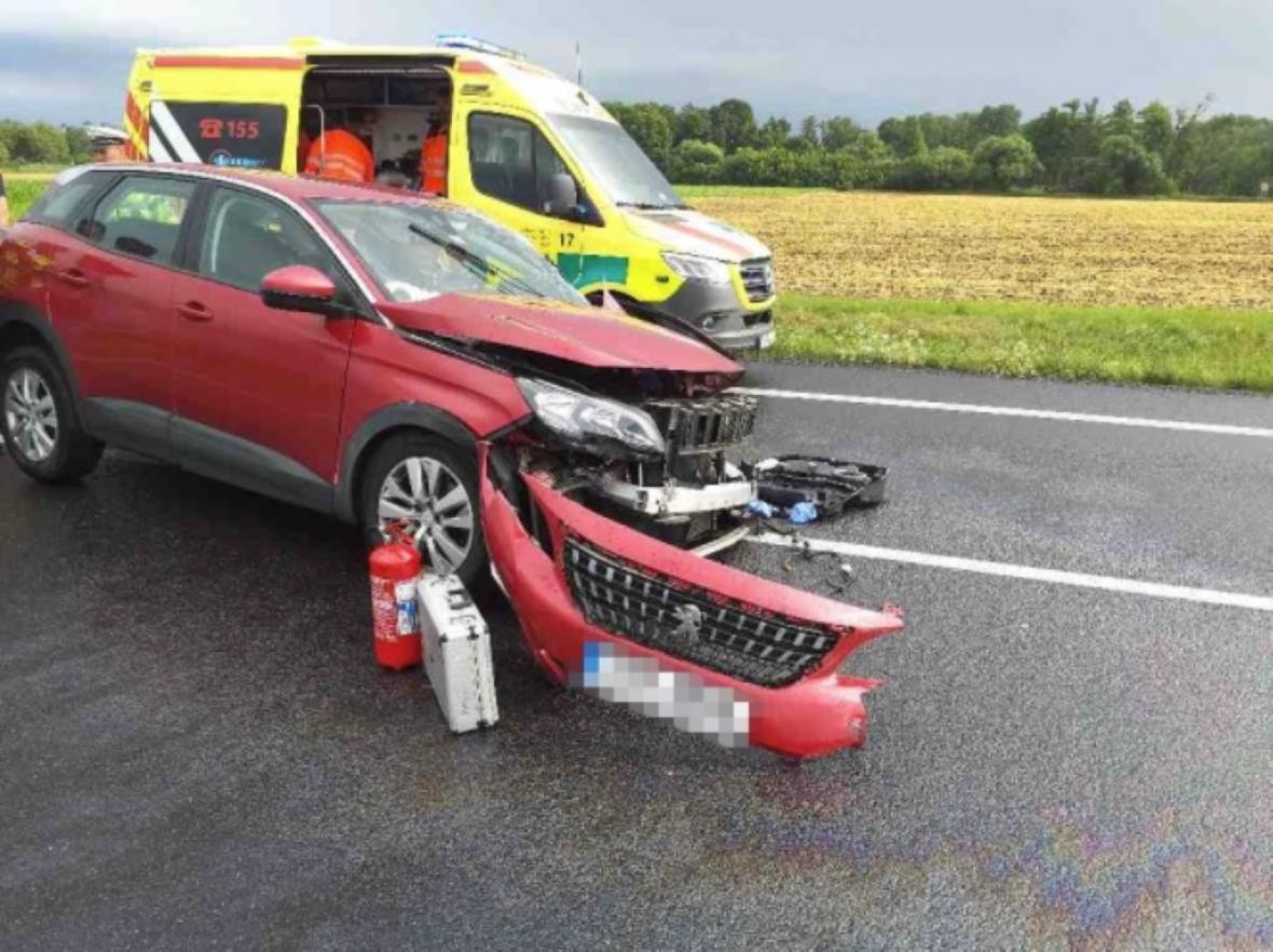Nehoda u Pasohlávek