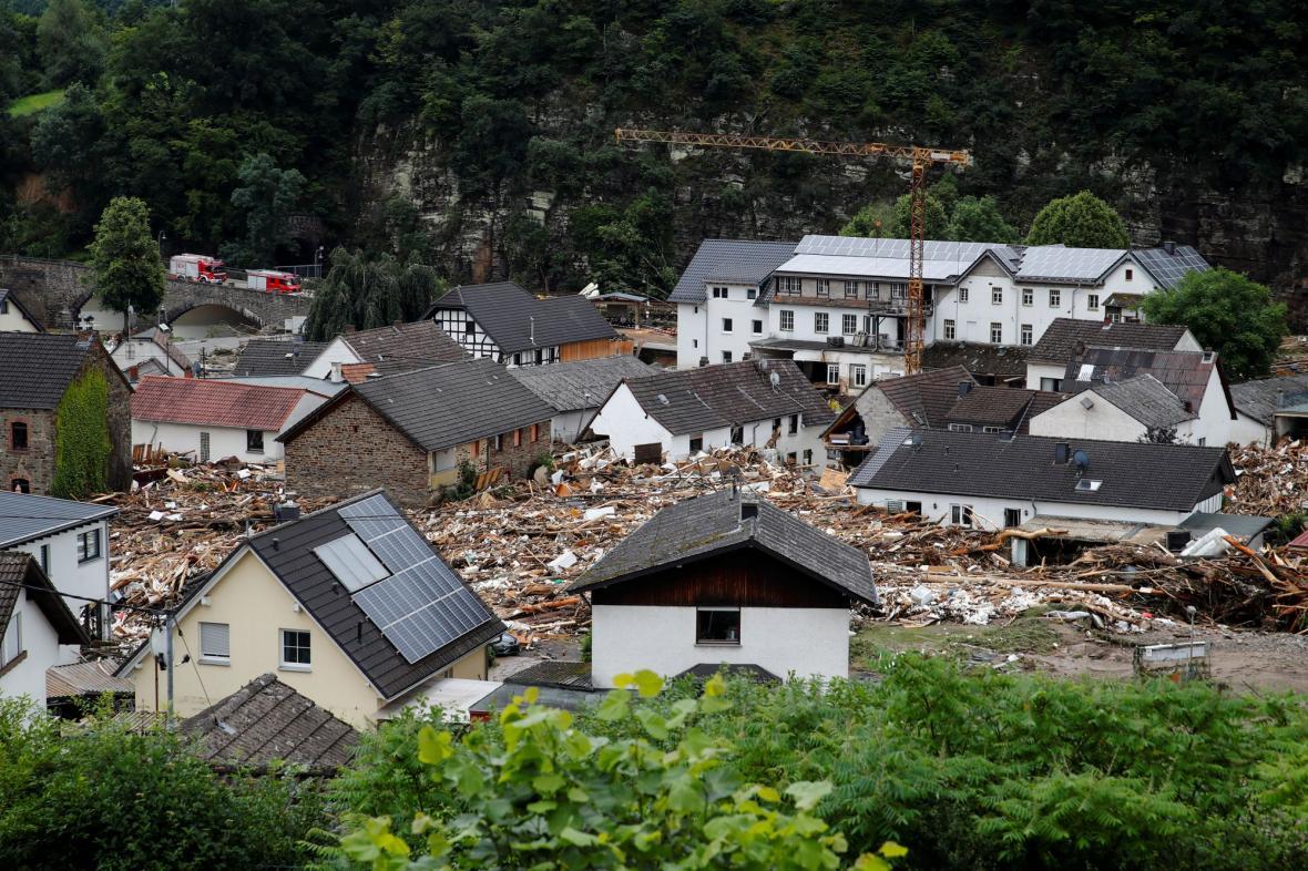 Záplavy v Německu