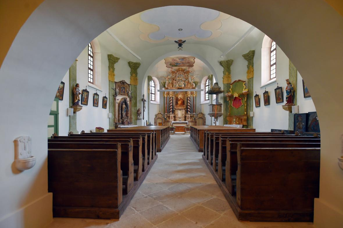 Náročná rekonstrukce barokního kostela v Božím Daru stála přes 40 milionů korun