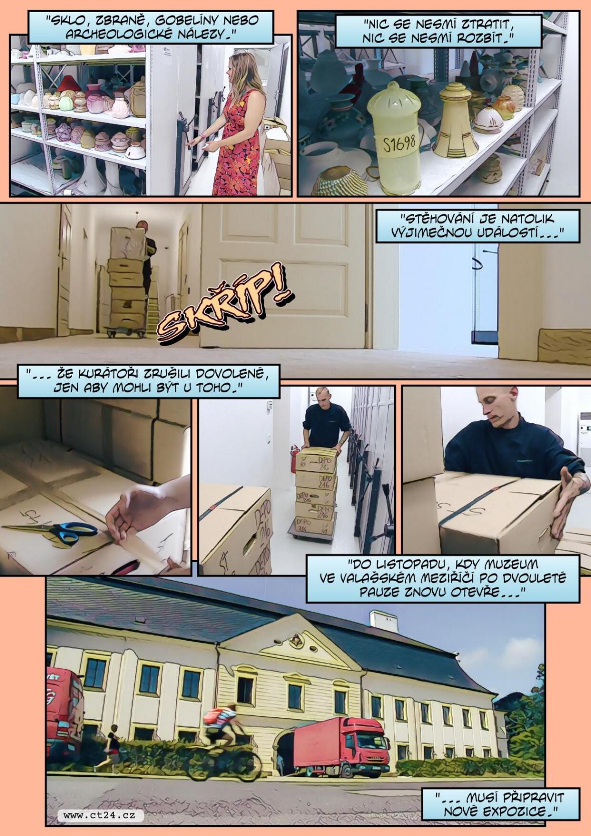 Valašské historické sbírky se stěhují