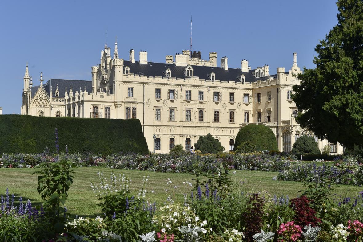 Na zámku v Lednici na Břeclavsku začne na podzim velká revitalizace zámeckého parku za 160 milionů korun