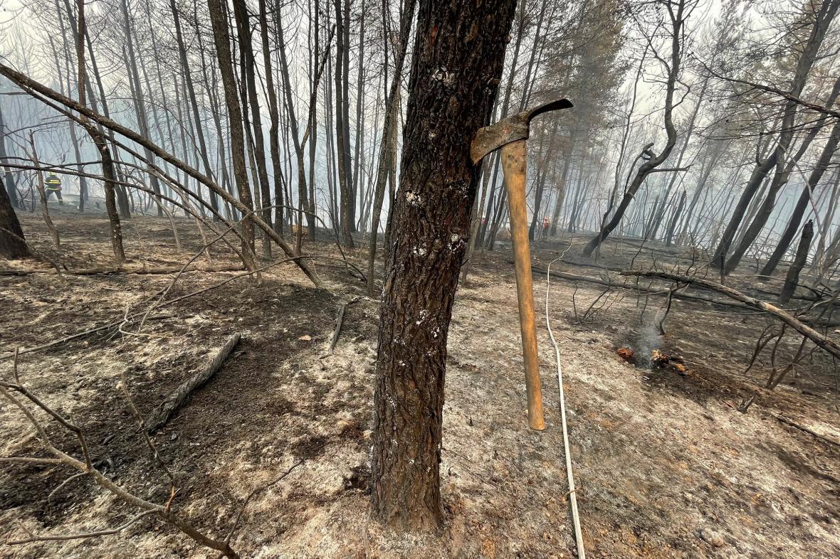 Řecko dál bojuje s požáry, nově  bylo evakuováno preventivně 21 vesnic