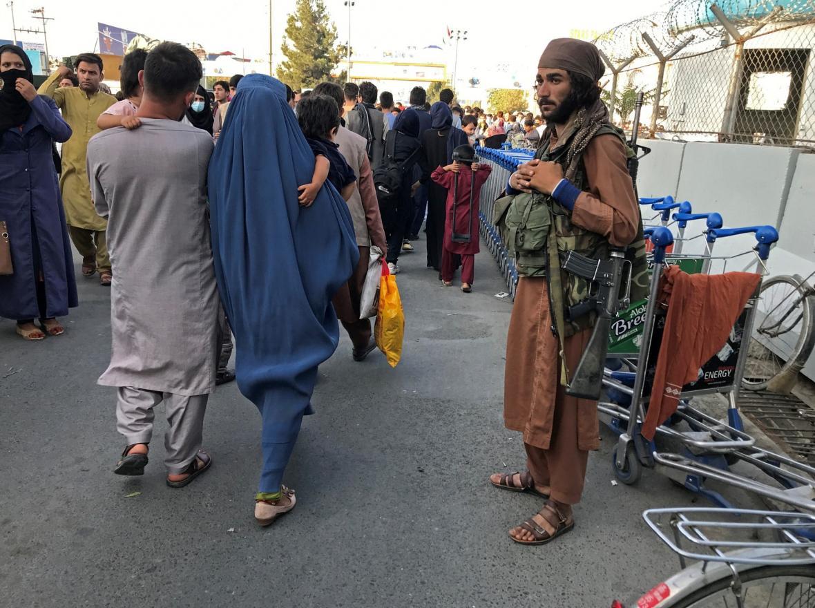 Situace v Afghánistánu po převzetí moci hnutím Talibán