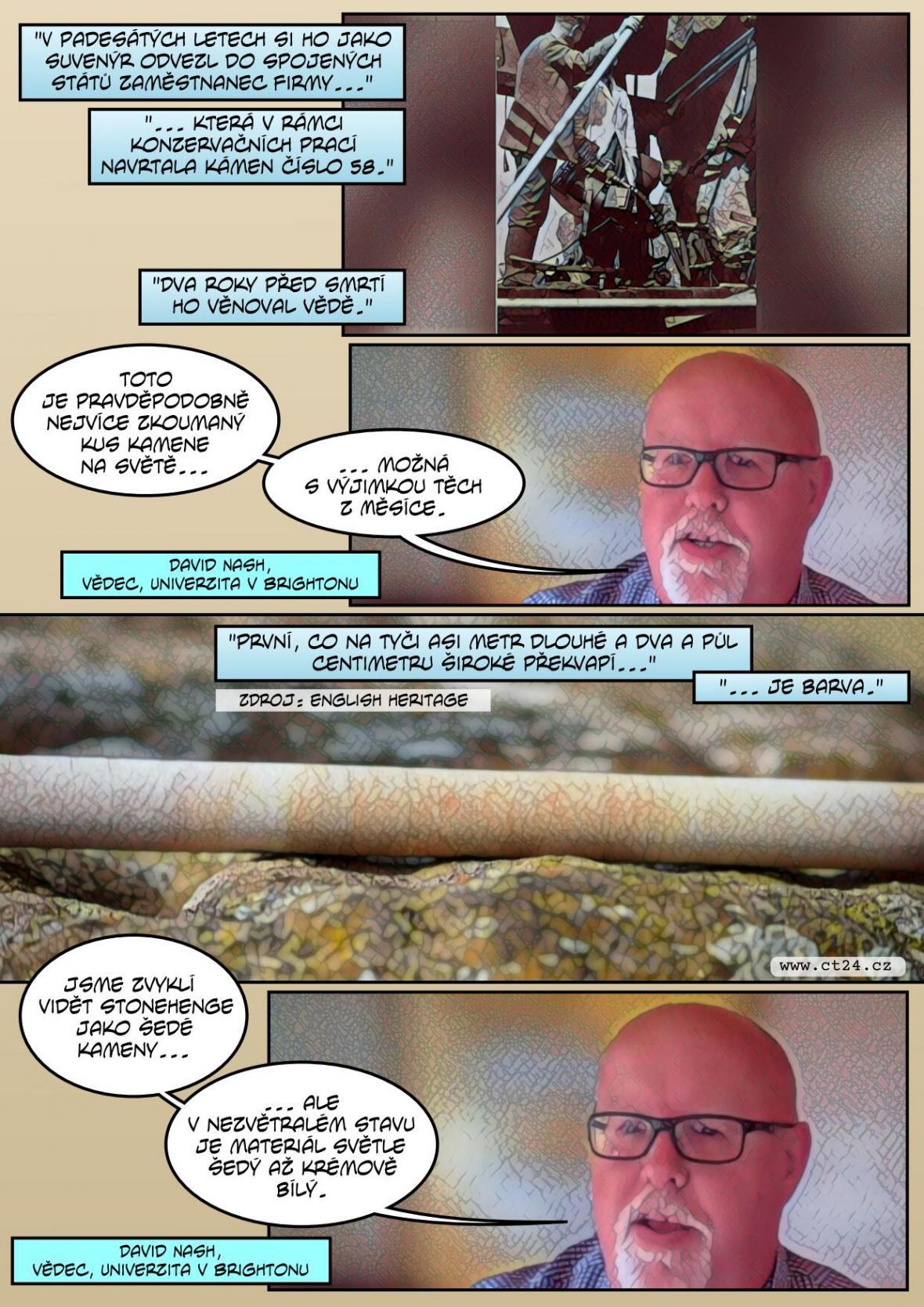 Vědci odhalili původ kamenů Stonehenge