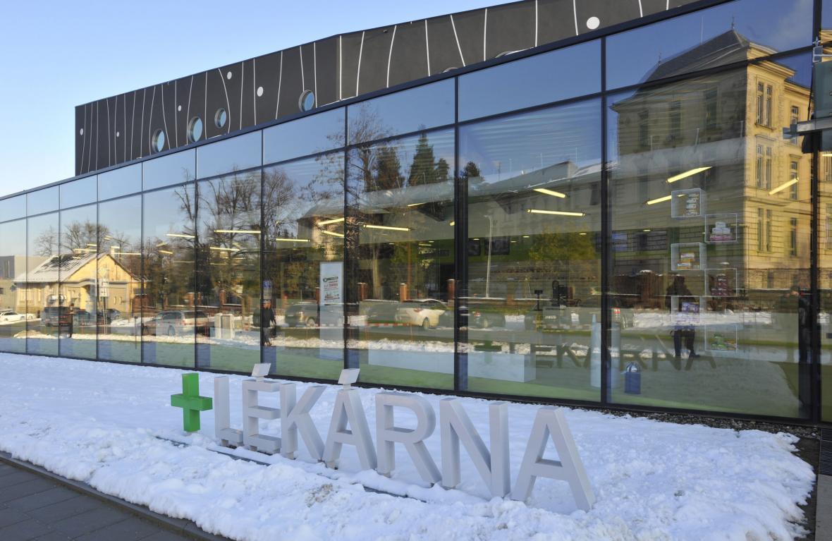 Nová hlavní lékárna olomoucké fakultní nemocnice