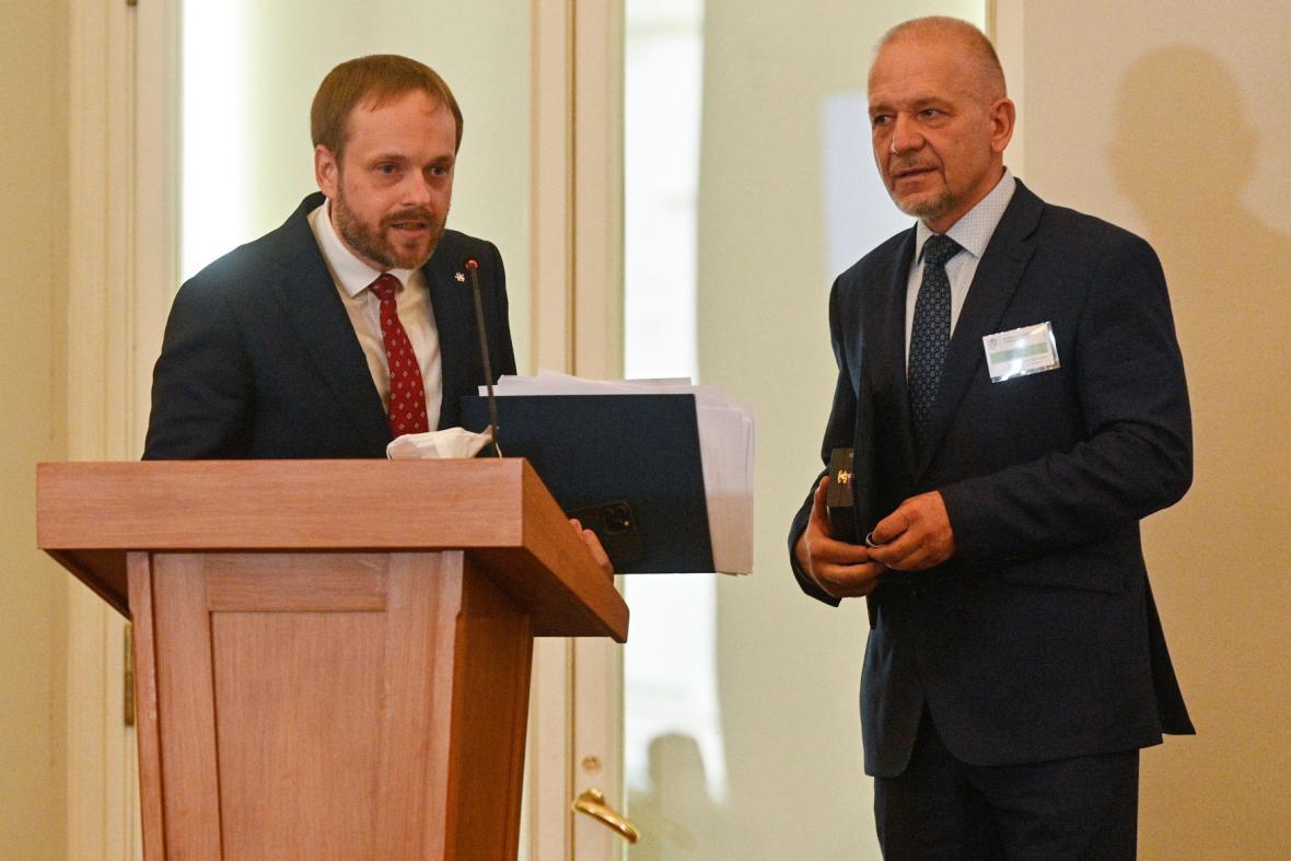 Jakub Kulhánek a Jiří Baloun