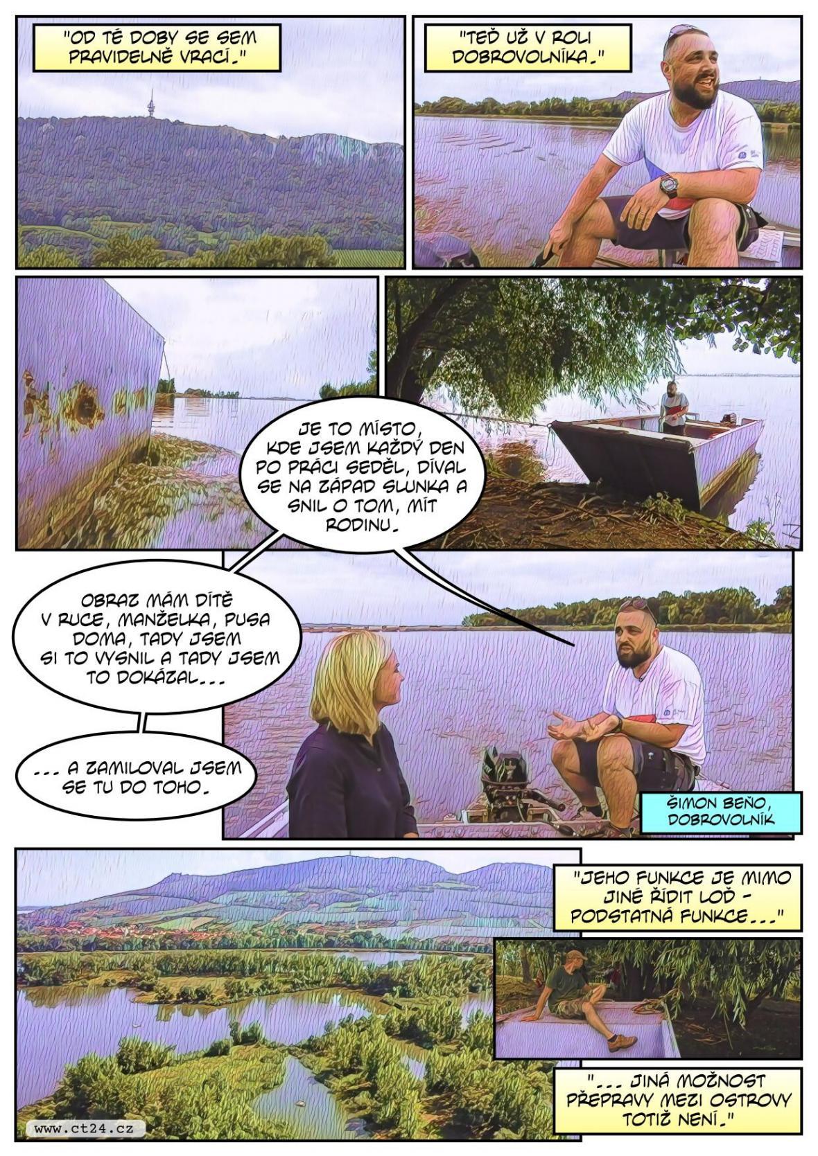 Drogově závislí se rehabilitují na ostrůvcích Nových Mlýnů. Odstřižení od civilizace jsou vázáni jen na přírodu