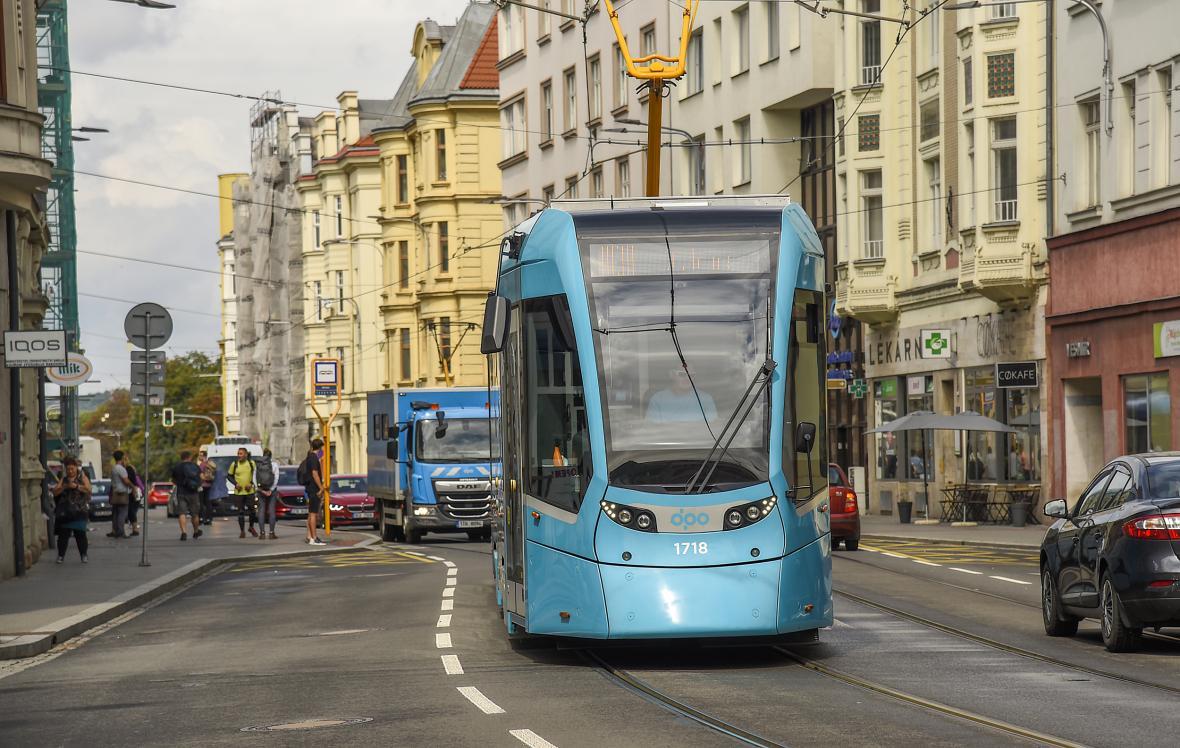 Tramvaj v Ostravě - ilustrační foto