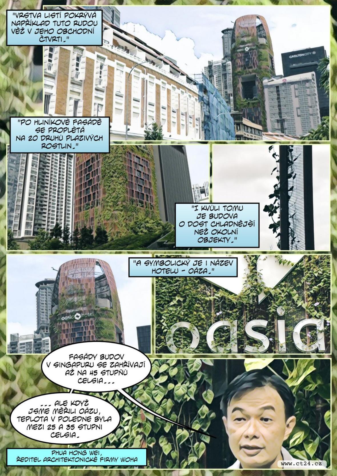Architekti chtějí zchladit města