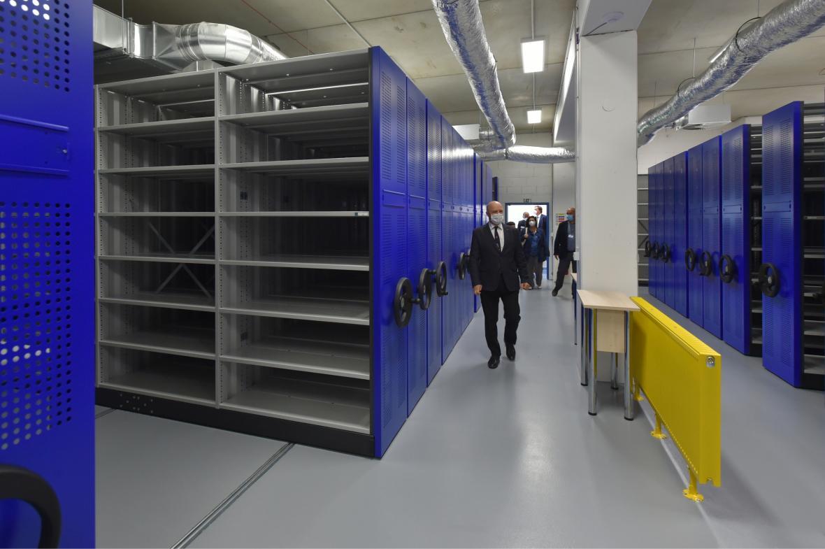 Krajská knihovna Karlovy Vary představila svůj nový depozitář