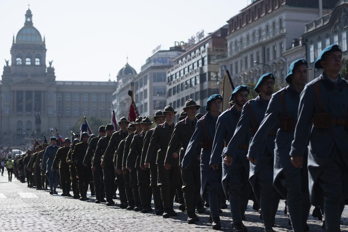 Sté výročí Československé obce legionářské