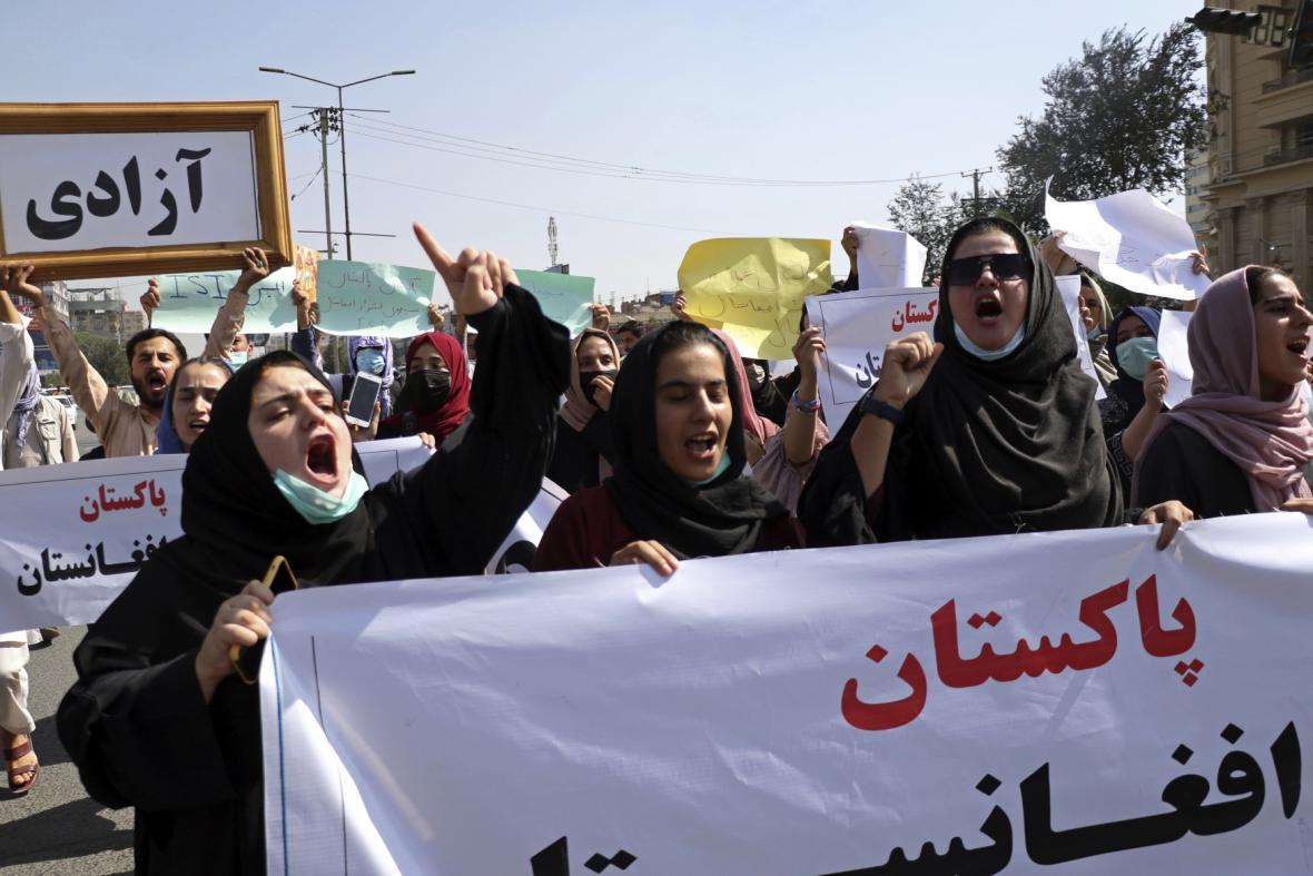 V Kábulu lidé protestovali proti pákistánskému vměšování