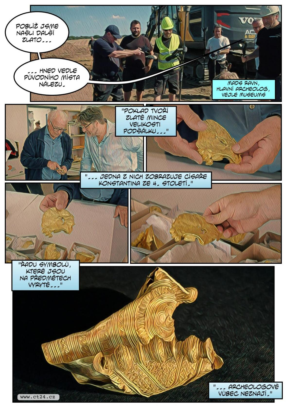 Dán našel téměř patnáct set let starý poklad