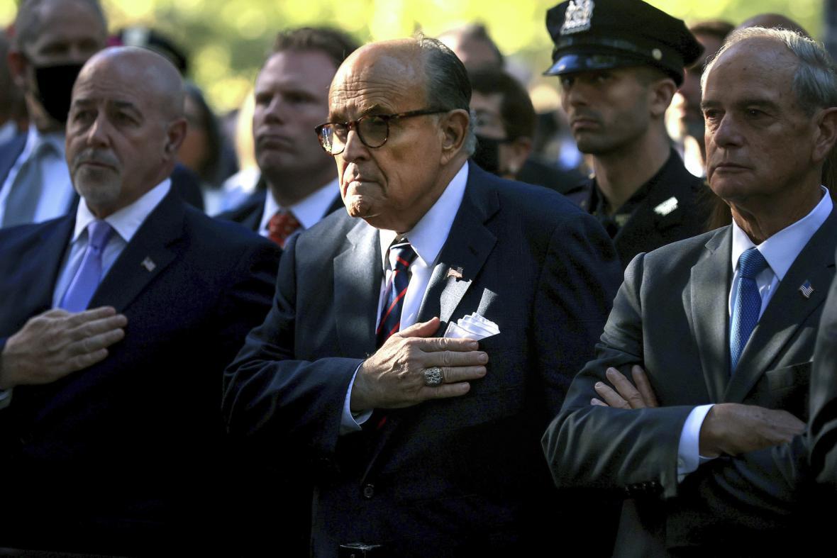 Bývalý newyorský starosta Rudy Giuliani