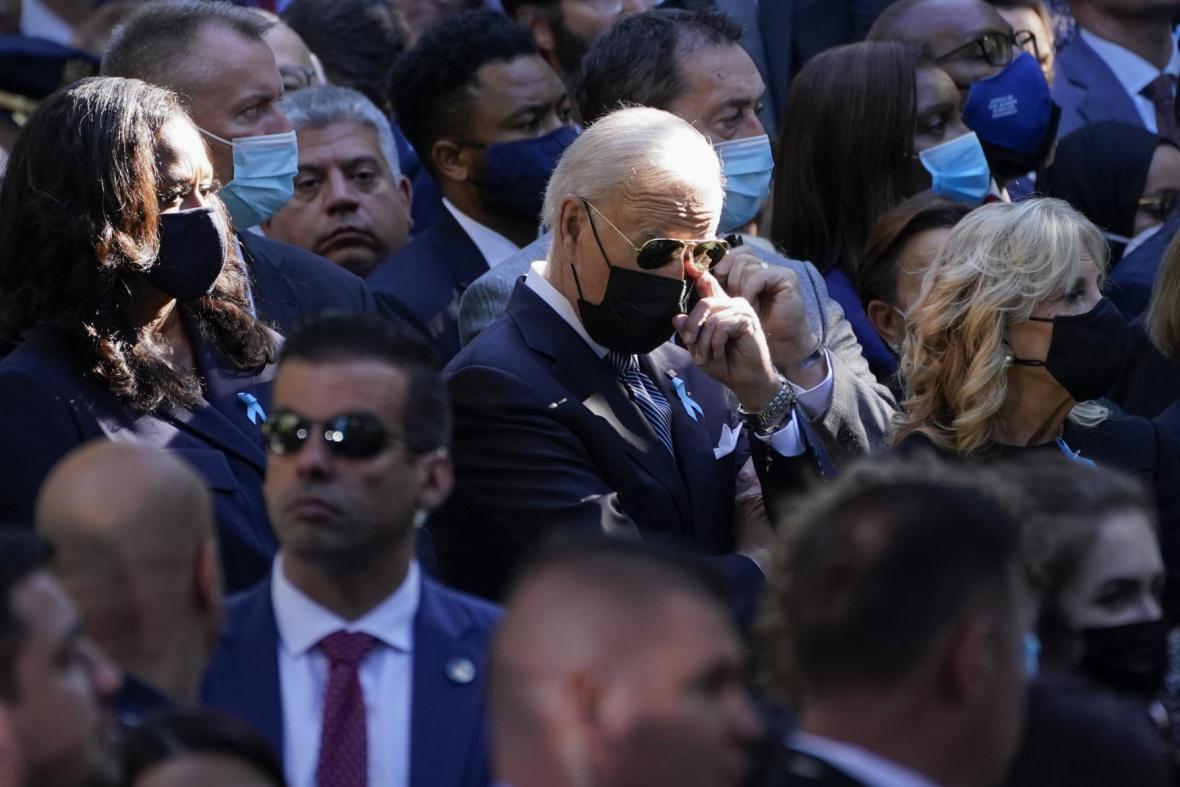 Americký prezident Joe Biden s manželkou Jill