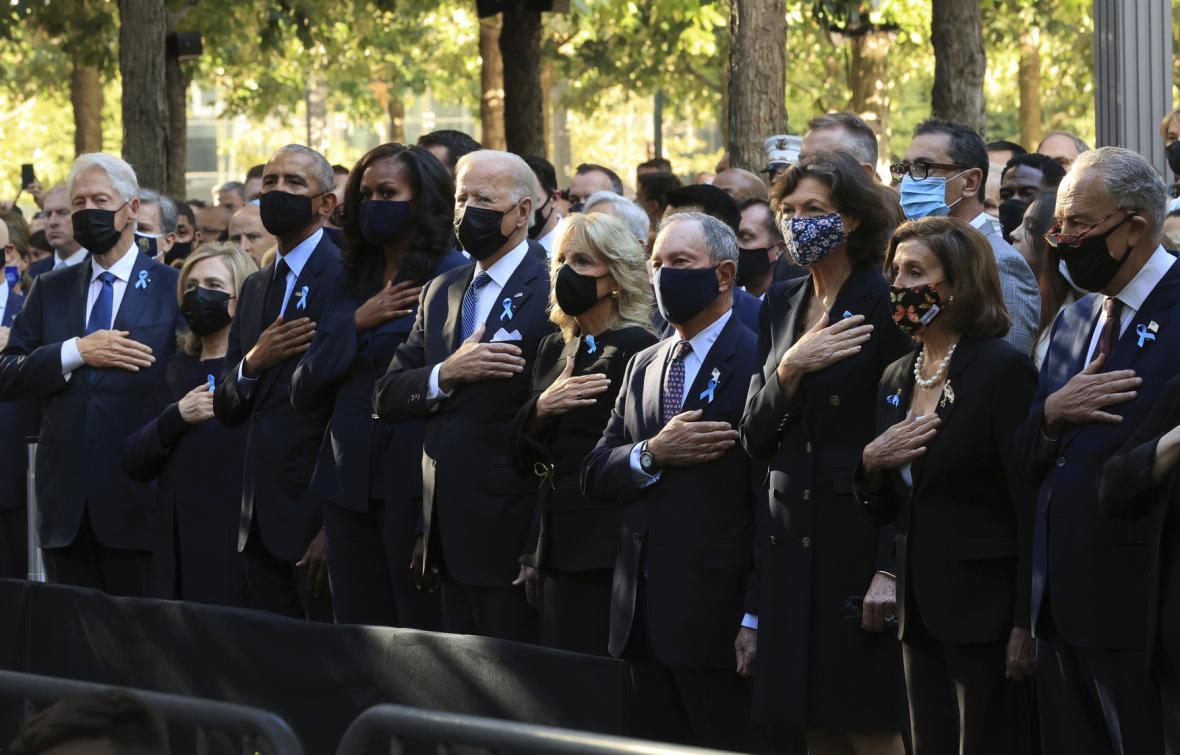 Amerika si připomíná 20. výročí útoků z 11. září
