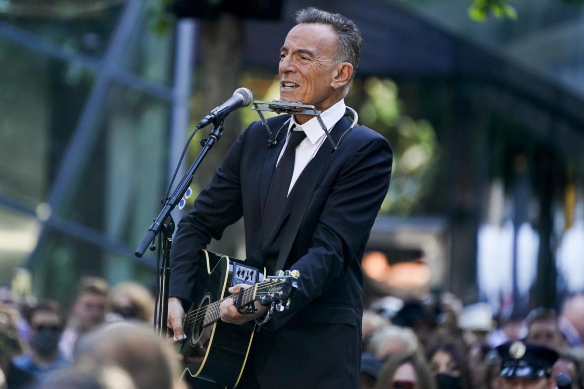 Zpěvák Bruce Springsteen