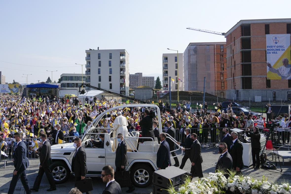 Návštěva papeže Františka na Slovensku