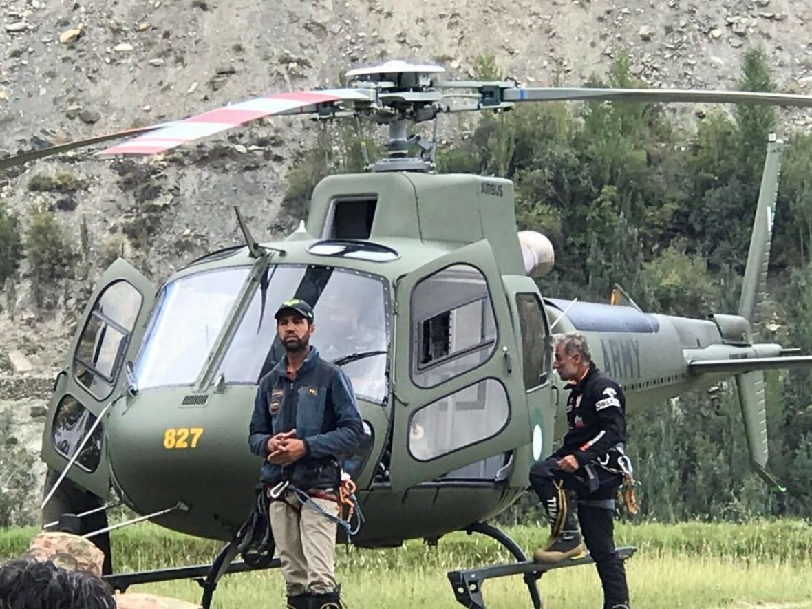 Pákistánští záchranáři čekají na možnost vyproštění dvou českých horolezců