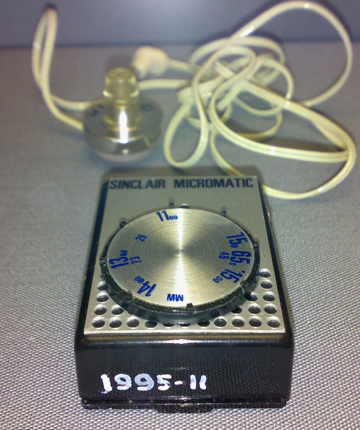 Kapesní rádio Sinclair Micromatic