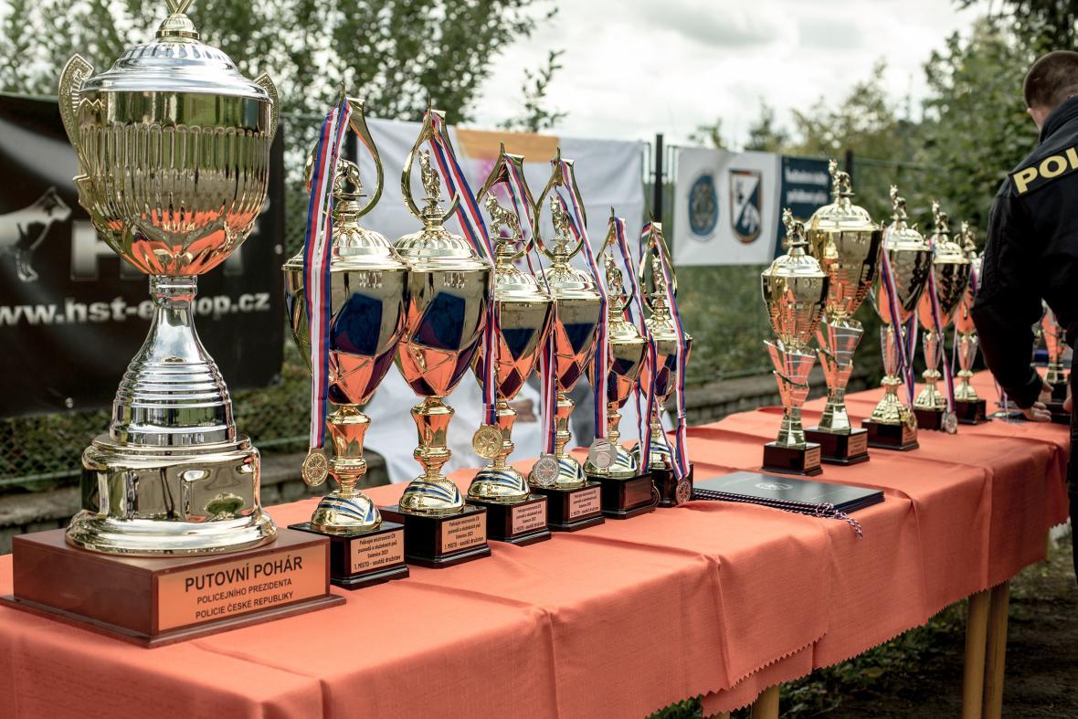 Ve čtvrtek 16. září 2021 se v Solenici u Orlické přehrady konalo Policejní mistrovství České republiky psovodů se služebními psy