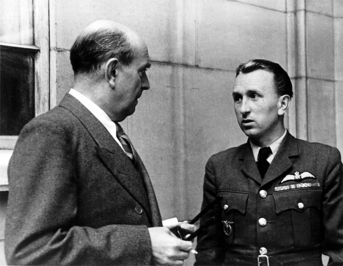 Karel Kuttelwascher s Janem Masarykem