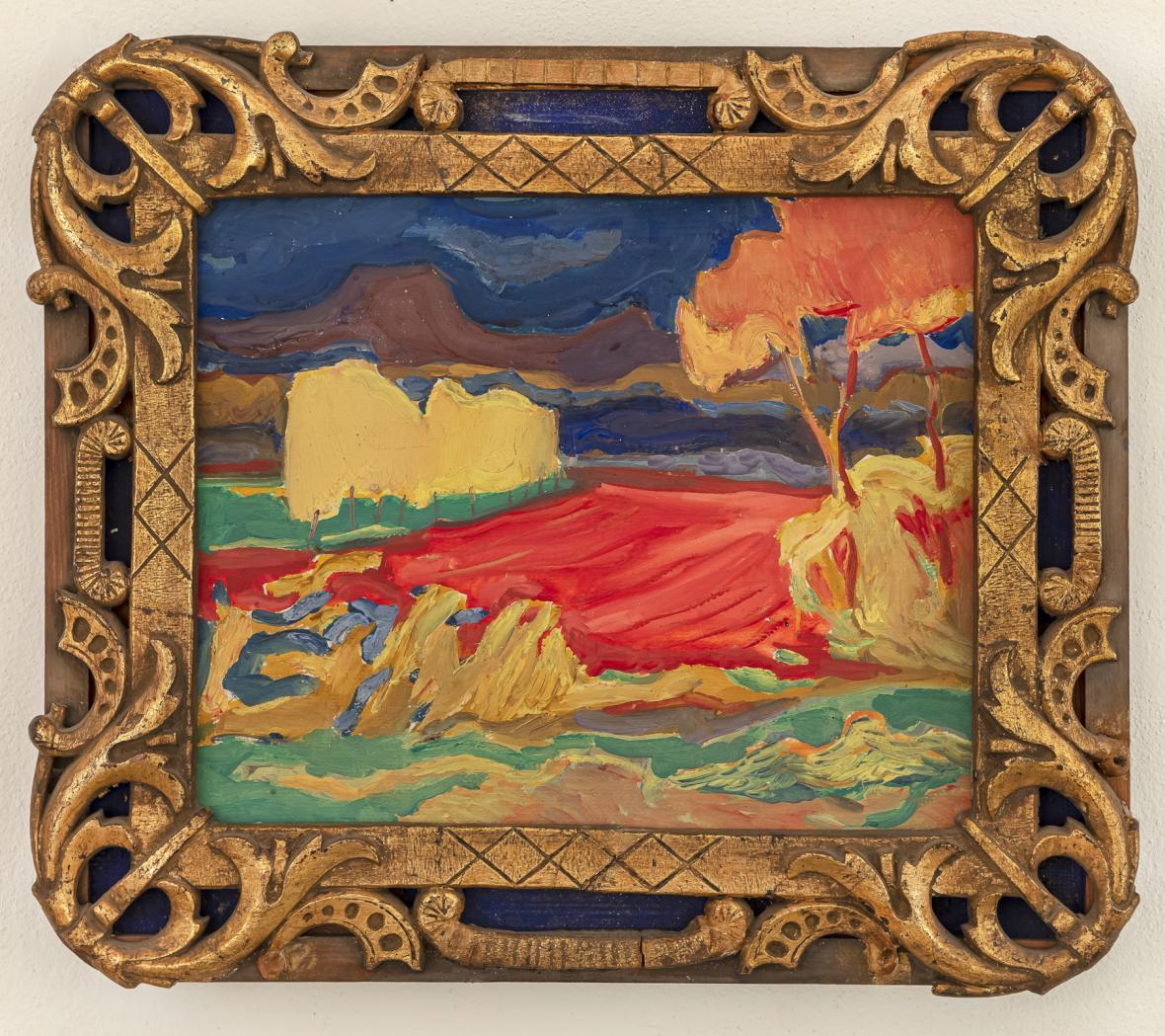Z výstavy Vladislava Mirvalda v Galerii Benedita Rejta