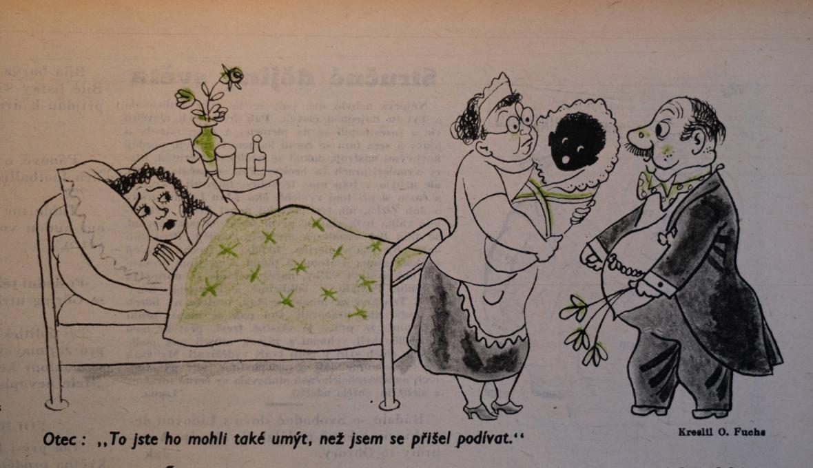 Vtipy o poválečných dětech z časopisu DIkobraz, ročník 1946