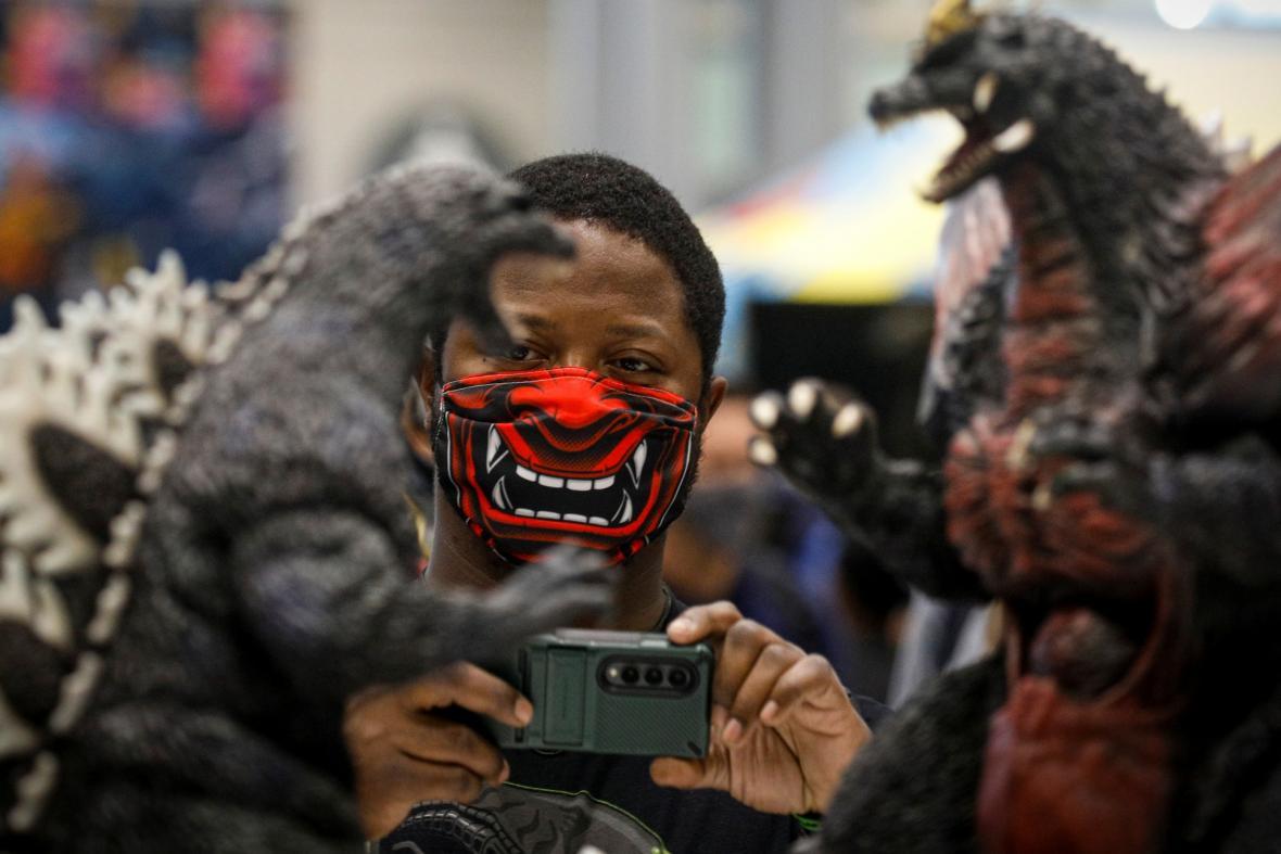 Fanoušci převlečeni za komiksové postavy v originálních kostýmech jsou neodmyslitelně spjaty s festivalem Comic Con. Ten se do 10. října odehrává v Kongresovém centru Jacoba Javitse na Manhattanu v New Yorku