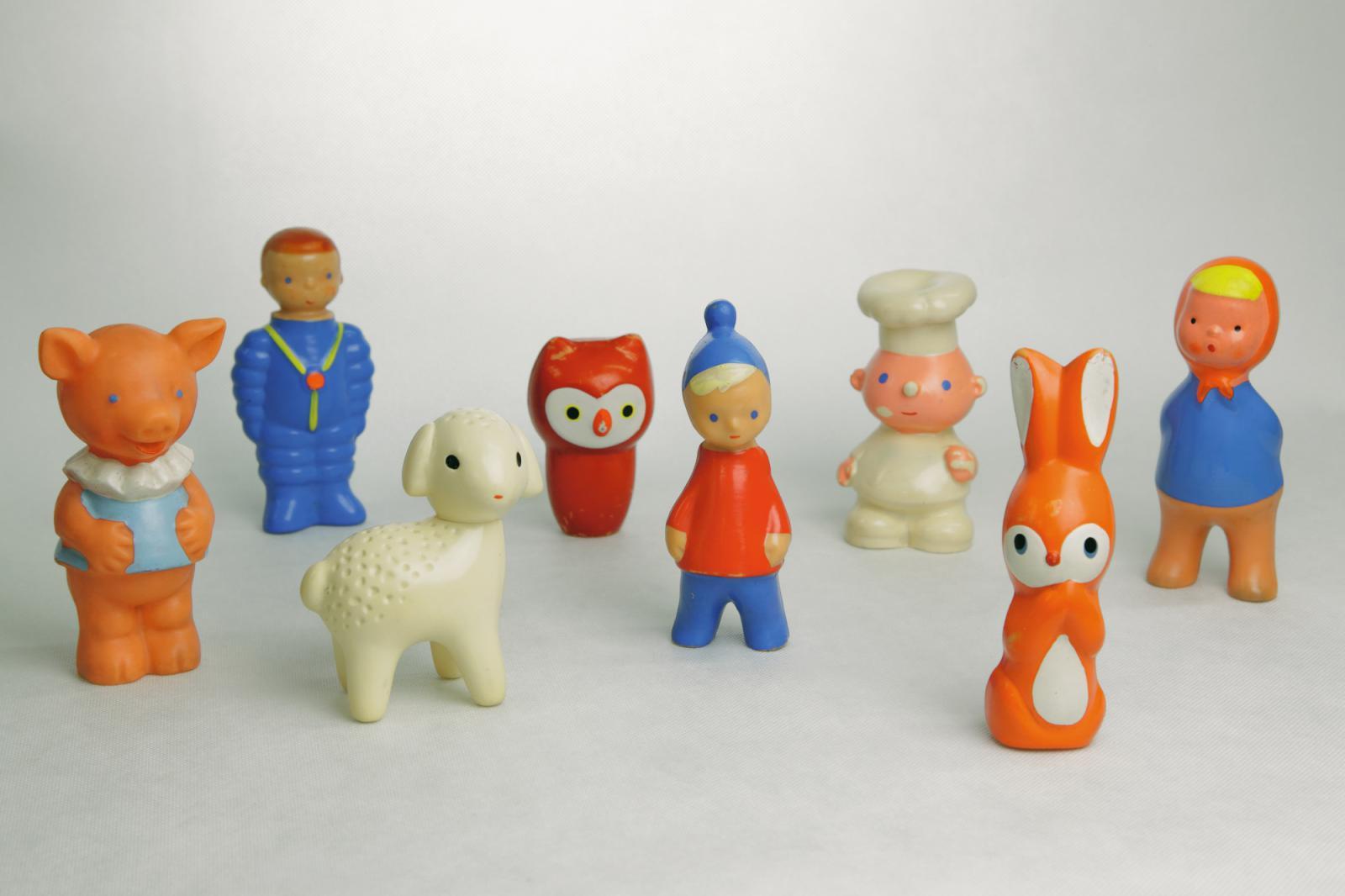 různí autoři, gumové hračky, 1959-1964