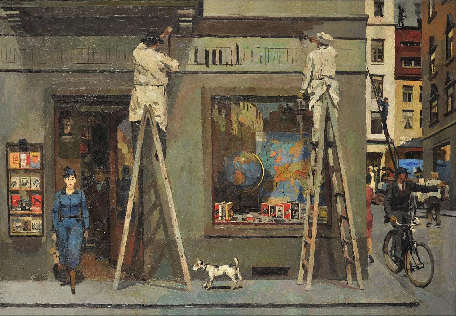 Bernhard Kretzschmar / Zbohatlíci (Natěrač), 1939