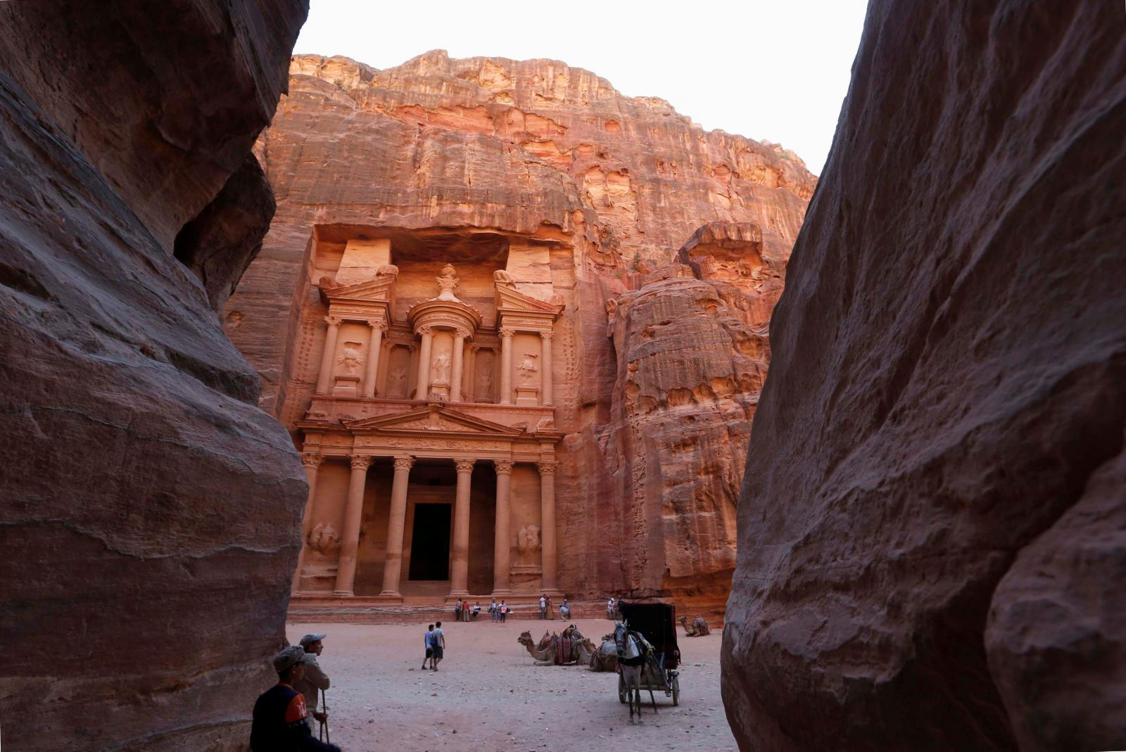Petra v Jordánsku