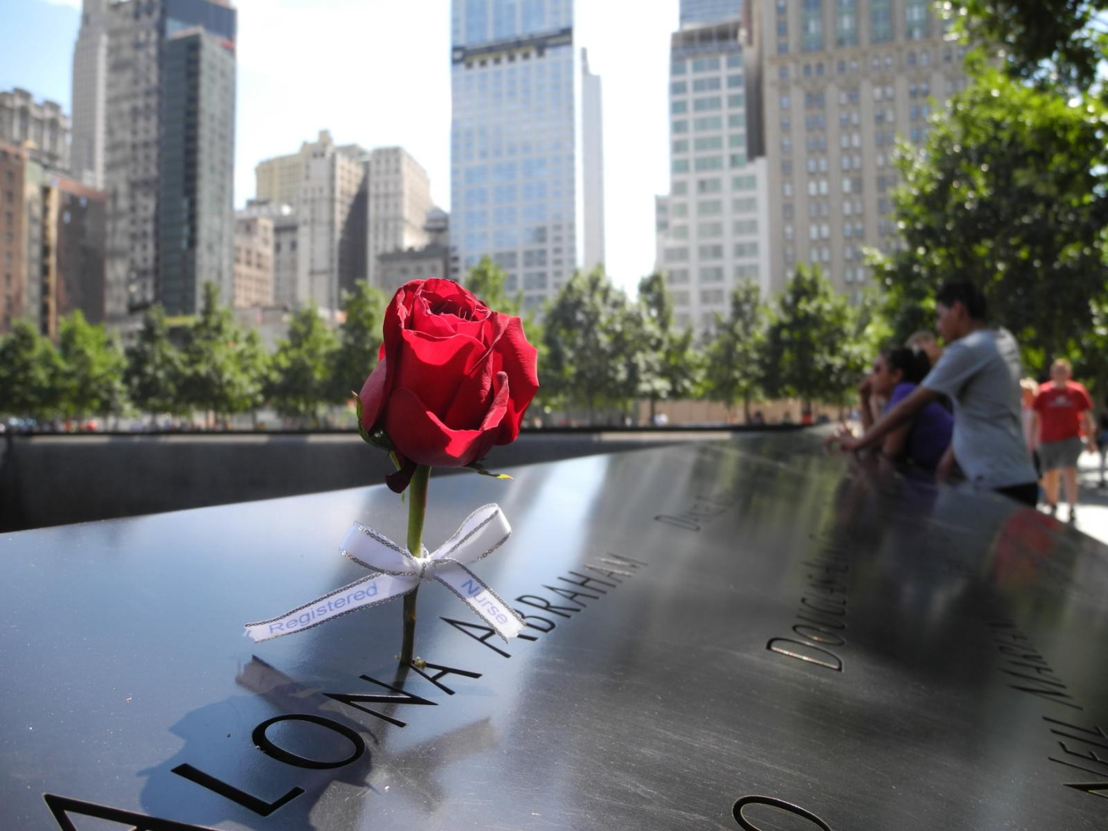 Památník věnovaný obětem útoků z 11. září 2001