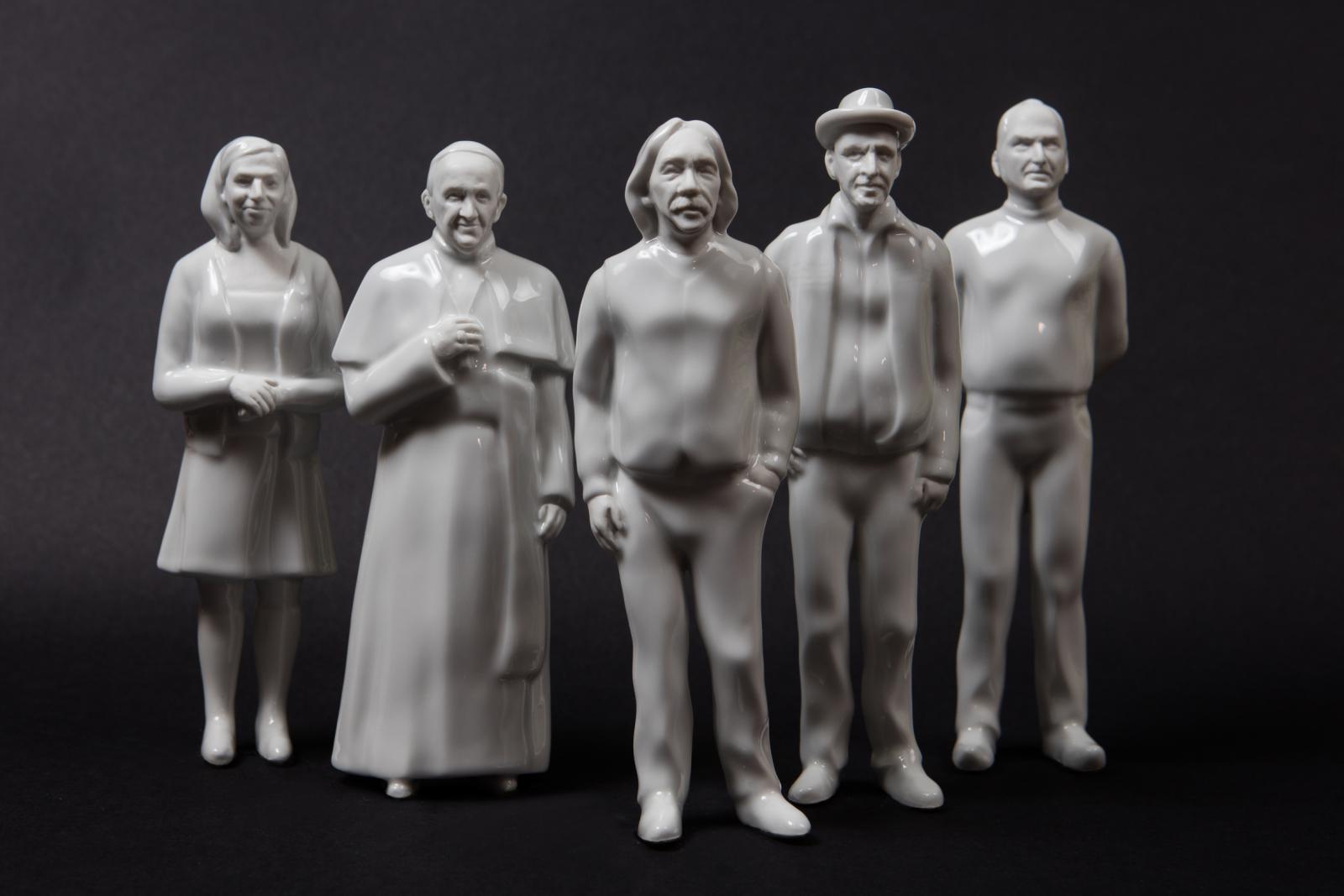 Porcelánové figurky od Kristíny Kollárovicsové