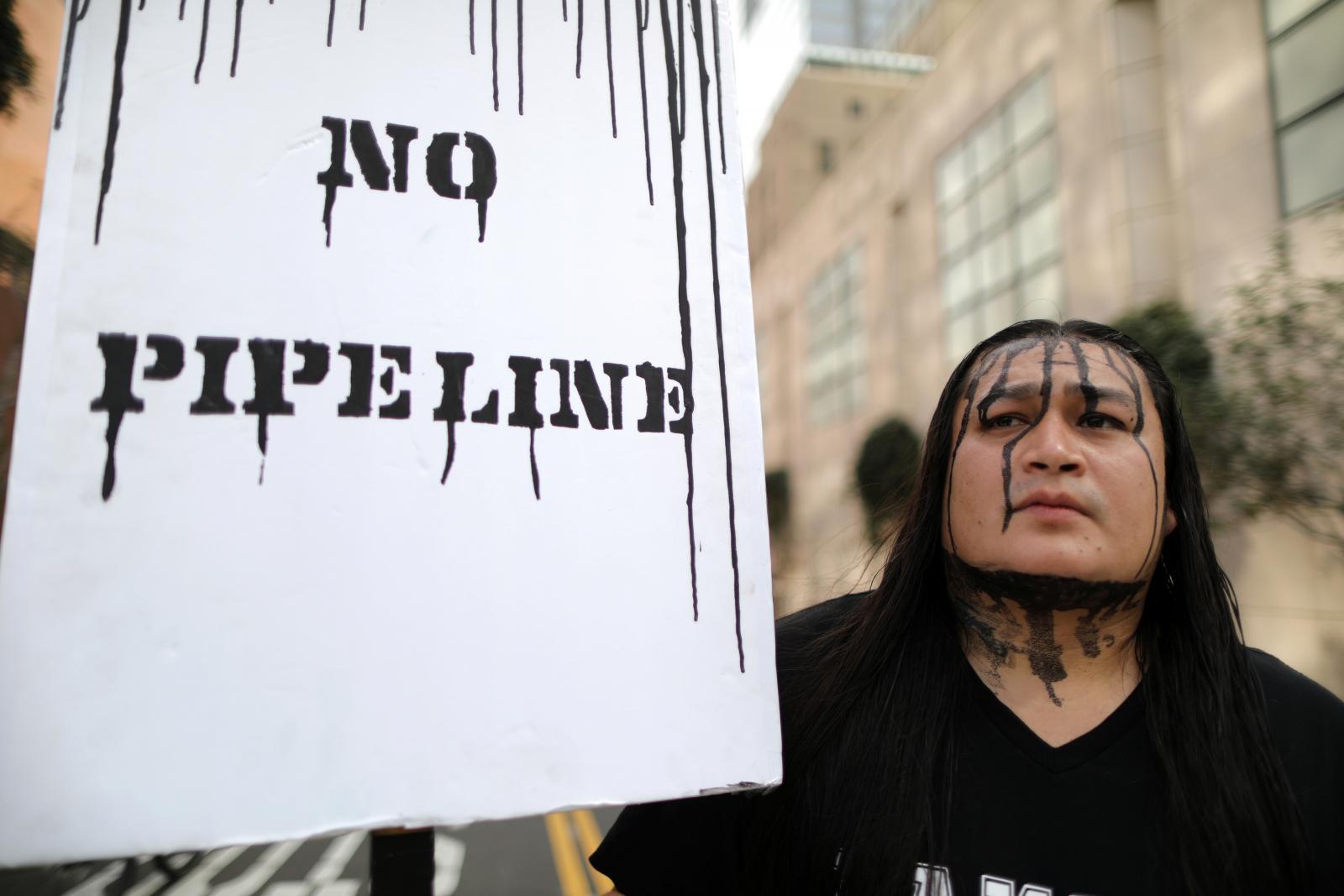 Protest proti ropovodu
