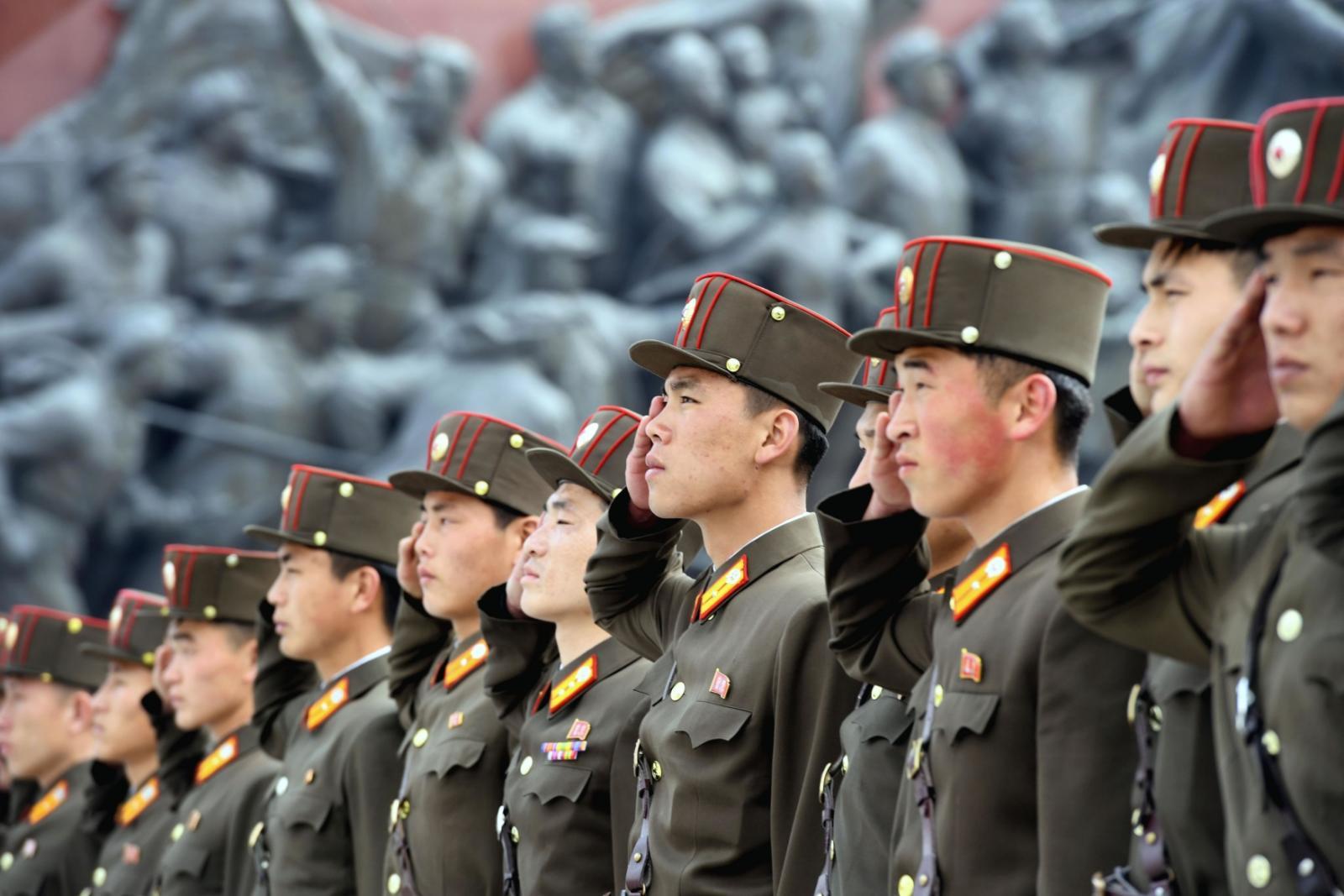 85. výročí založení armády KLDR