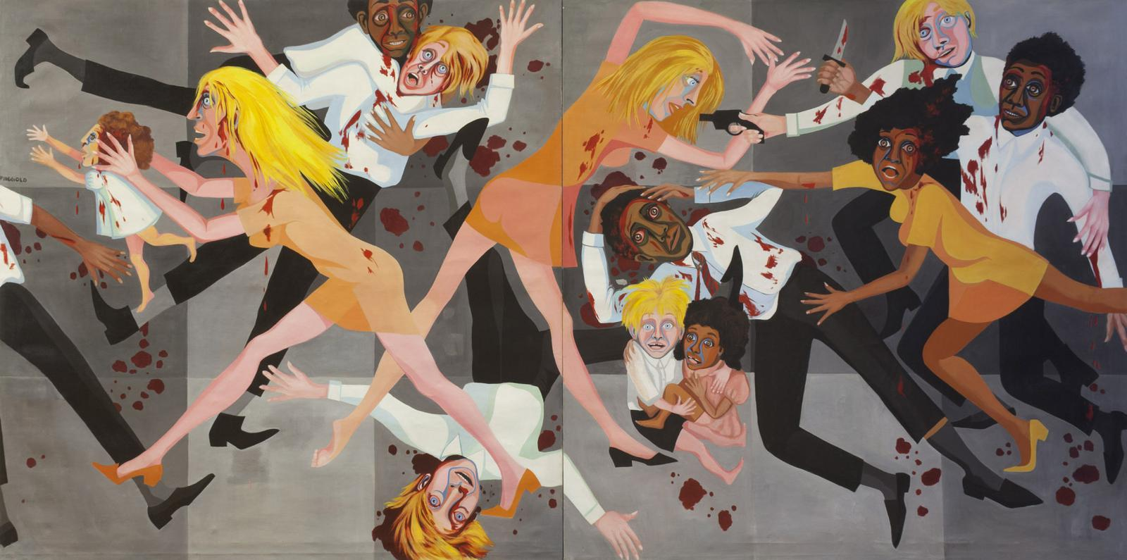 Faith Ringgold / American People Series #20