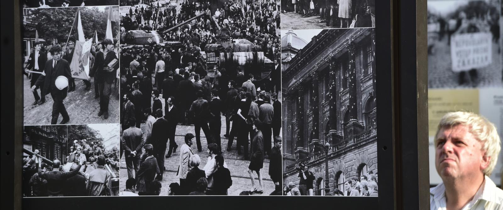 Výstava Srpen 1968 v Praze