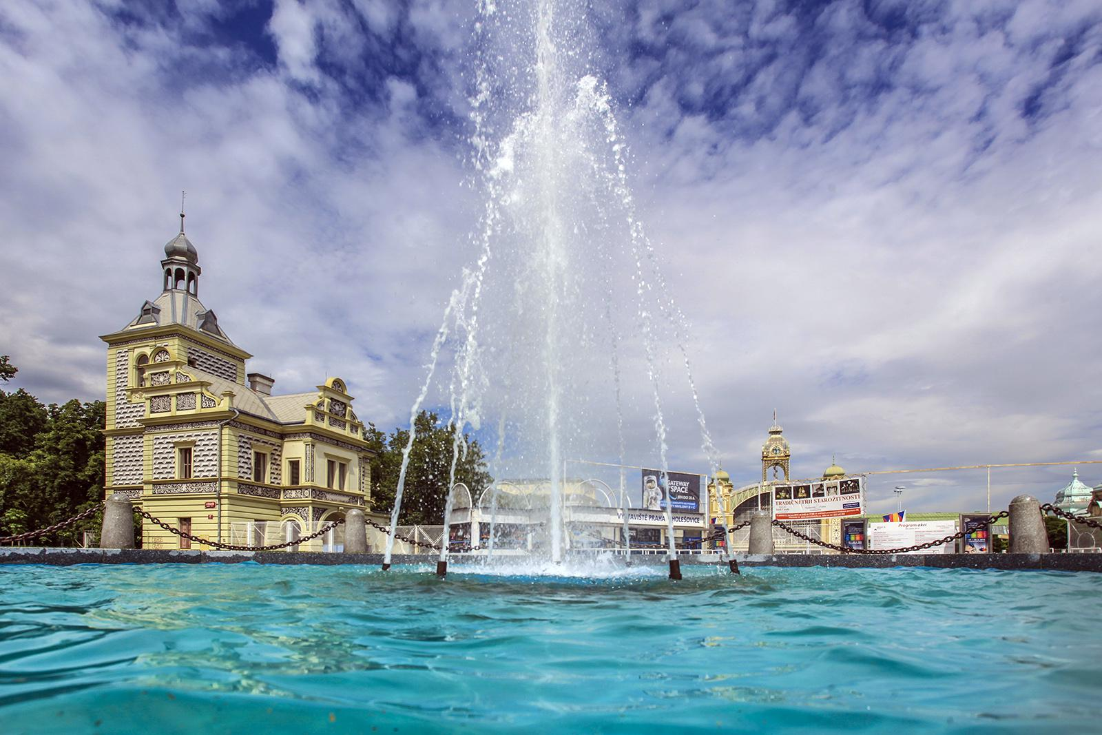 Rekonstrukce Výstaviště začala opravou fontán
