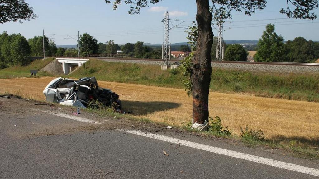 Nehoda na silnici I/43