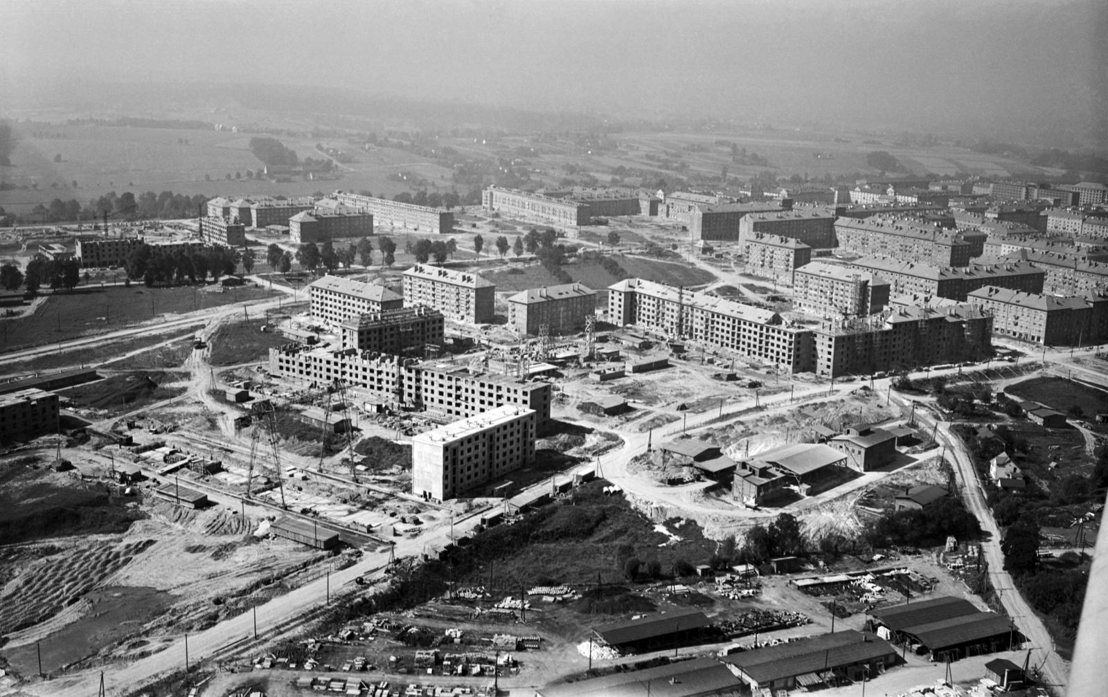 Výstavba Havířova - 1958