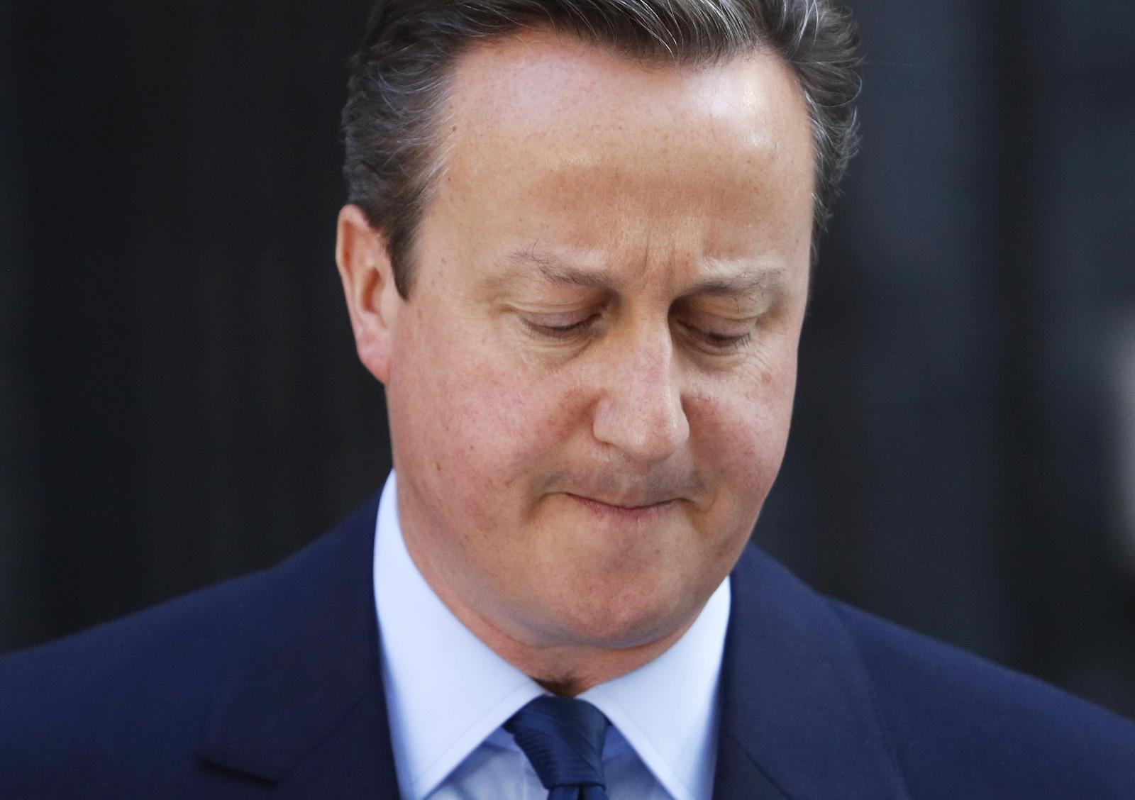 David Cameron po oznámení výsledků v referendu o brexitu oznámil svou rezignaci
