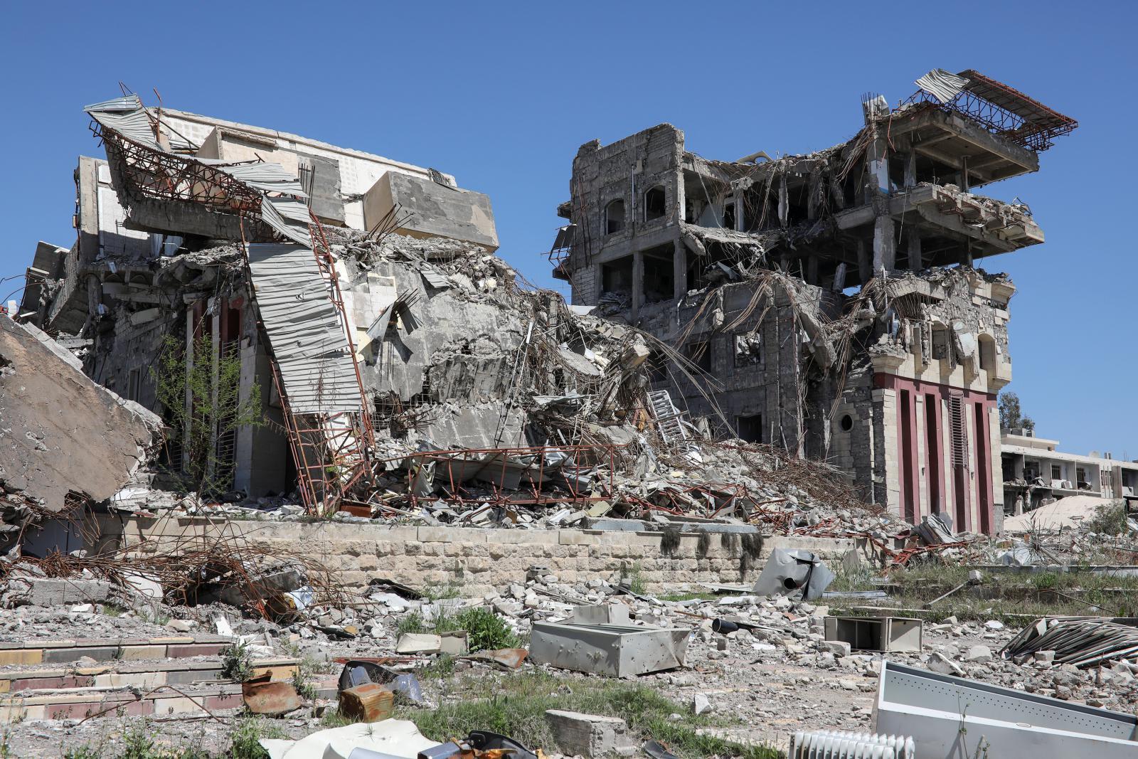 Zbytky mosulské univerzity