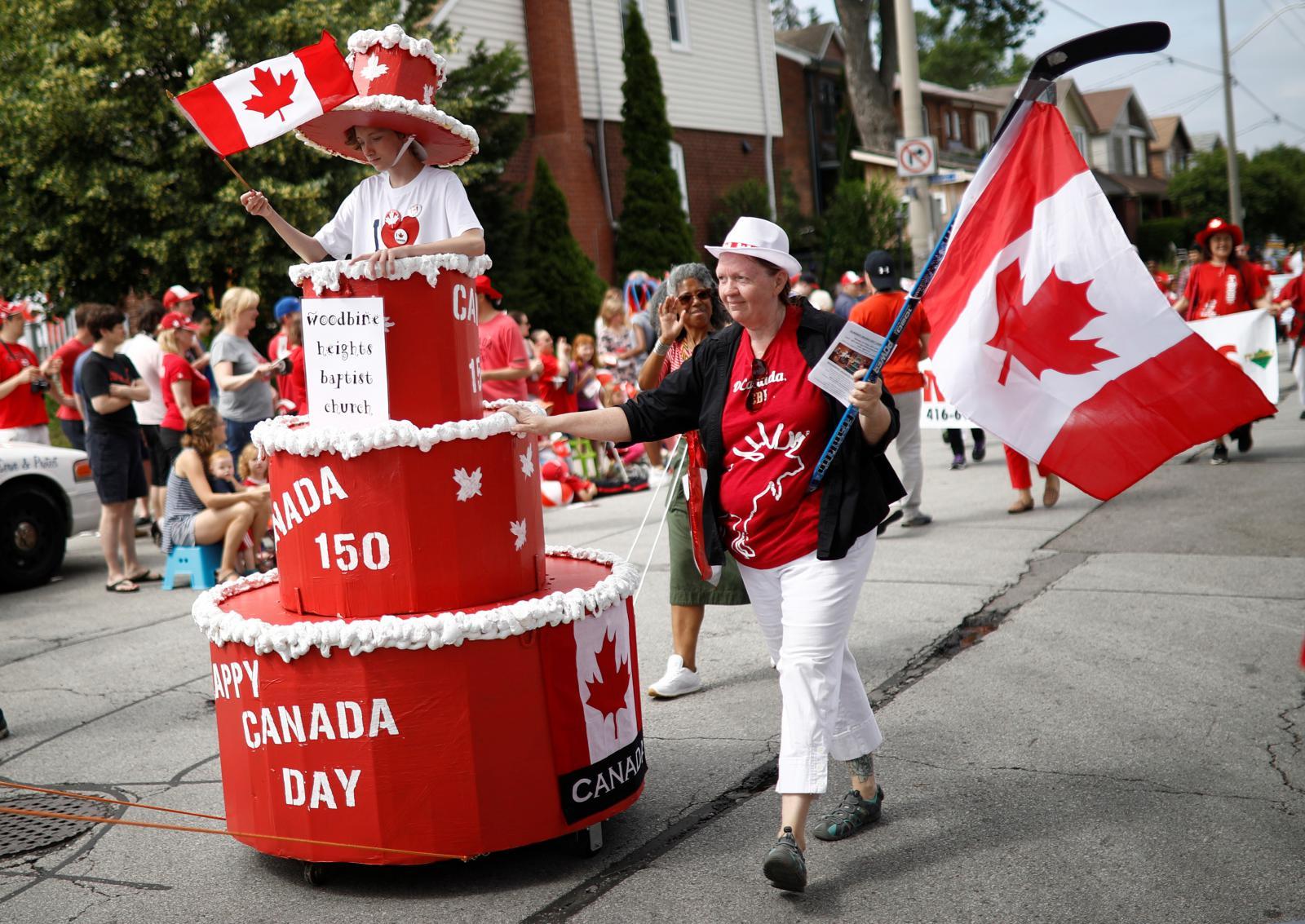 Oslavy 150. výročí vzniku Kanady