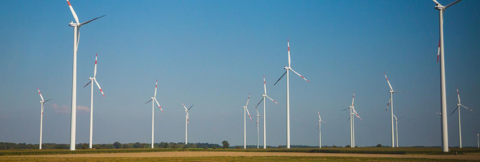 Větrné elektrárny v Německu