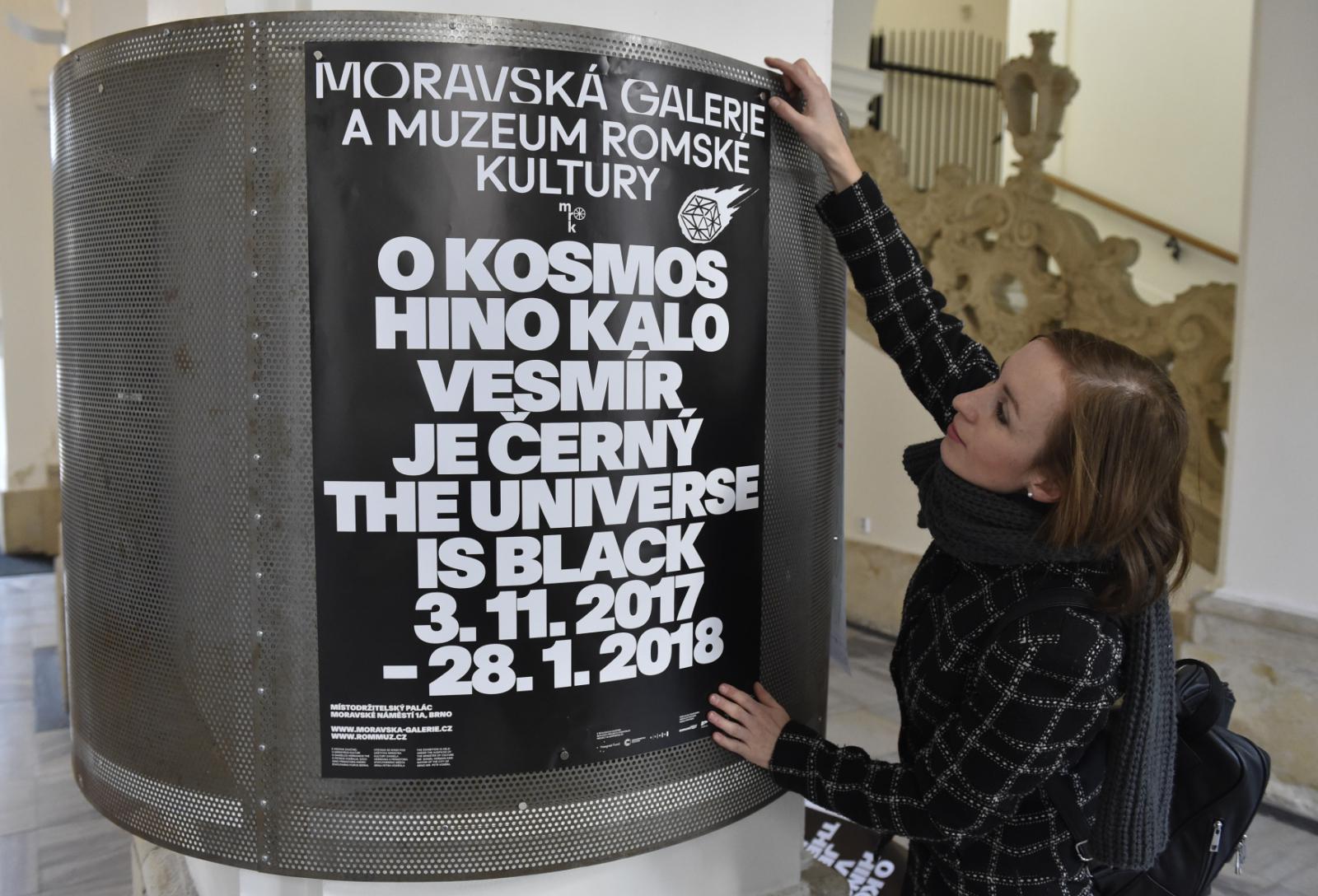 Expozice Vesmír je Černý v Místrodržitelském paláci