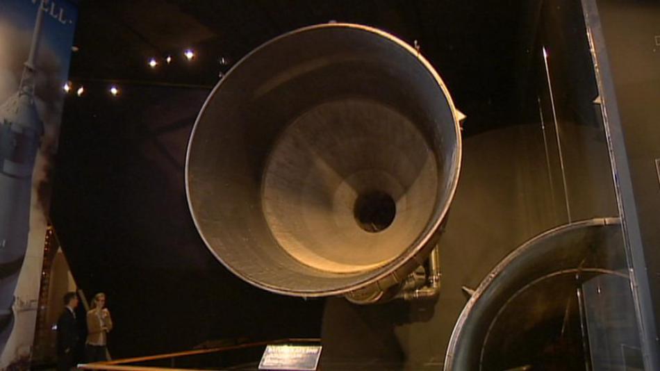 Motor rakety Saturn 5