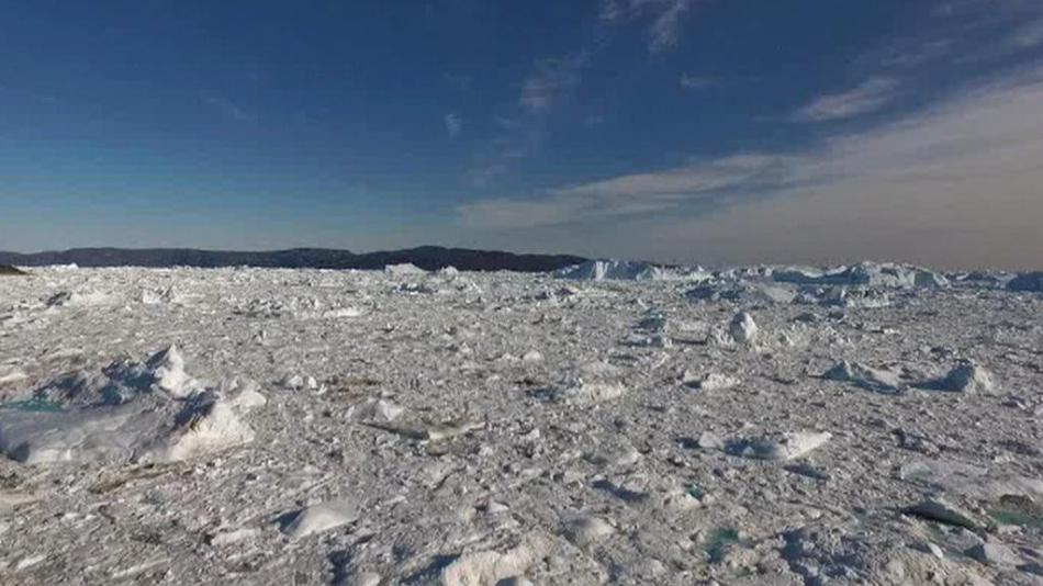 Grónské ledové pláně