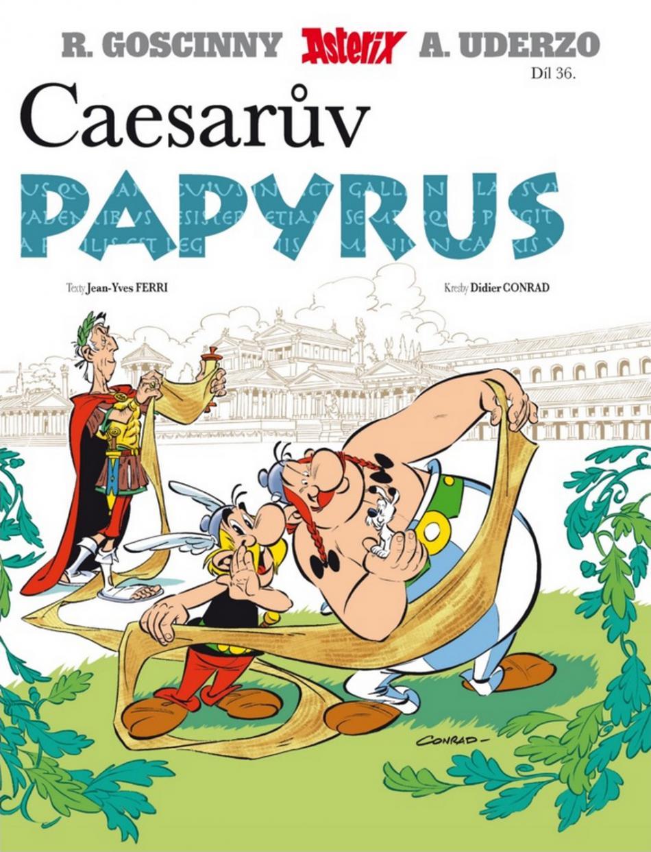 R. Gosciny, A. Uderzo / Caesarův papyrus