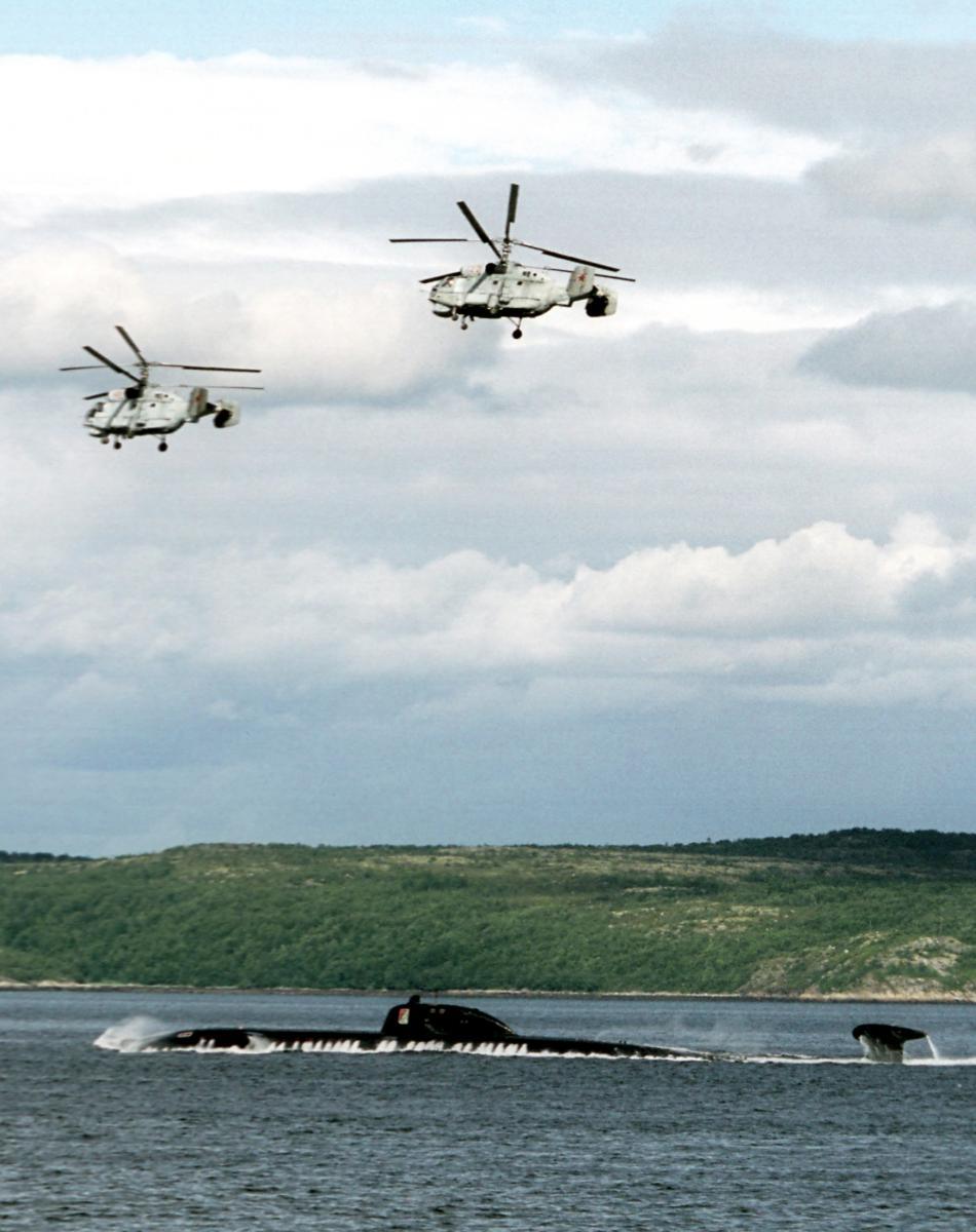 Ruská armáda v Barentsově moři